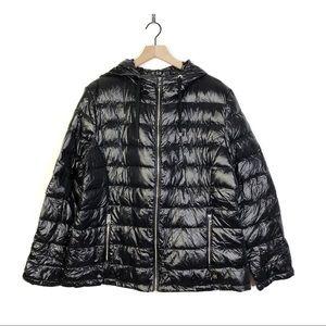 Andrew Marc Down Premium Black Puffer Coat XXL